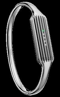 Accesoriu bratara metalica fitness Fitbit Flex 2 marimea S argintie