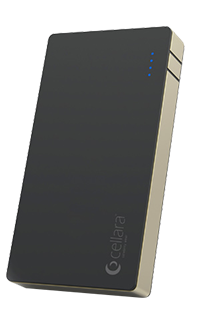 Accesoriu baterie externa Cellara Xstorm capacitate 10000 mAh neagra