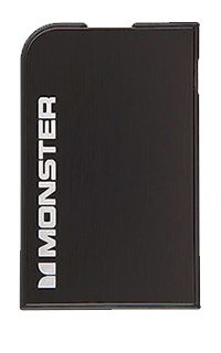 Baterie externa Monster powercard 1650 mah neagra