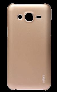 Accesoriu protectie spate Cellara pentru Samsung Galaxy J3 2016 aurie