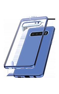 Accesoriu protectie spate Cellara colectia Electro pentru Samsung S10 albastru