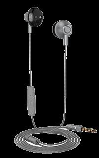 Accesoriu casti audio Cellara cu fir colectia Deeper gri