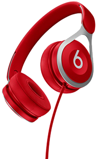Accesoriu casti on-ear Beats EP by Dr.Dre rosii