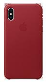Protecție spate din piele iPhone 7/8 roșu