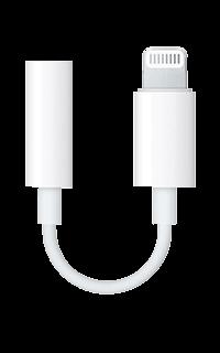Accesoriu adaptor Apple pentru jack la lightning connector alb