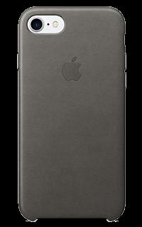 Accesoriu protectie spate apple din piele pentru iPhone 7 gri