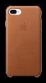 Accesoriu protectie spate apple din piele pentru iPhone 7 maro