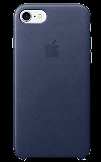Accesoriu protectie spate apple din piele pentru iPhone 7 bleumarin