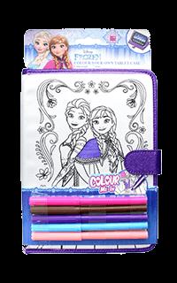 Accesoriu husa universala Frozen pentru tableta 7/8 inch Elsa Anna