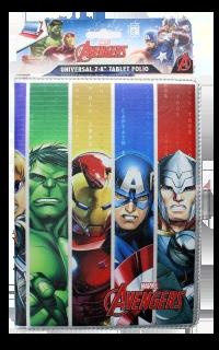 Accesoriu husa universala Avengers pentru tableta 7/8 inch