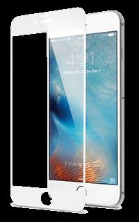 Accesoriu folie protectie din sticla 2.5 Mobiama pentru iPhone 7/8 alba