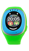 Ceas inteligent MyKi Touch pentru copii Albastru