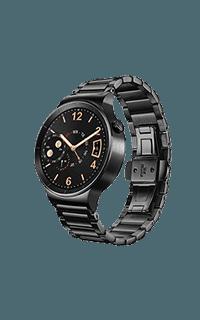 Huawei Watch W1 negru cu bratara zale
