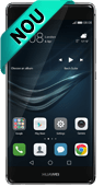 Pachet Huawei P9 Negru 4G si Casti JBL