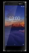 Nokia 3.1 negru