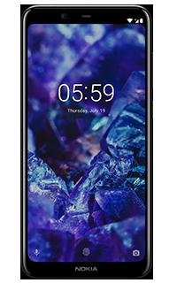 Nokia 5.1 Plus Negru 4G