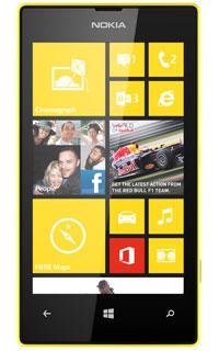 Nokia Lumia 520 Galben