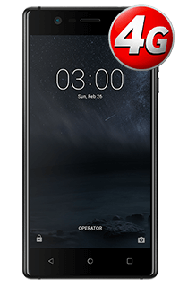 Nokia 3 Negru Mat 4G