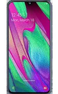 Samsung GALAXY A40 64GB Dual SIM Negru 4G