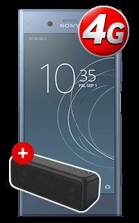 Pachet Sony Xperia XZ1 Albastru 4G cu Accesoriu boxa Sony SRS-XB3