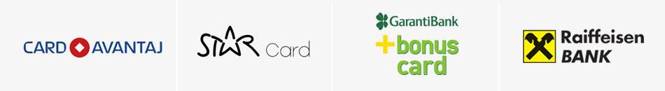 Card Avantaj / Star Card / Garanti + bonus card / Raiffeisen