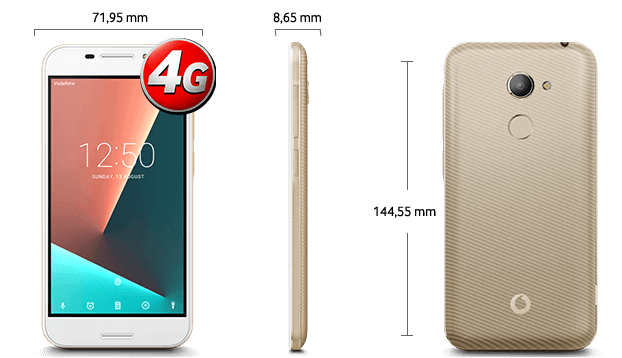 Dimensiuni Vodafone N8