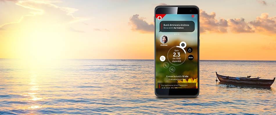Am lansat noua aplicație My Vodafone