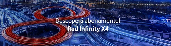 Descoperă noile abonamente Red Infinity